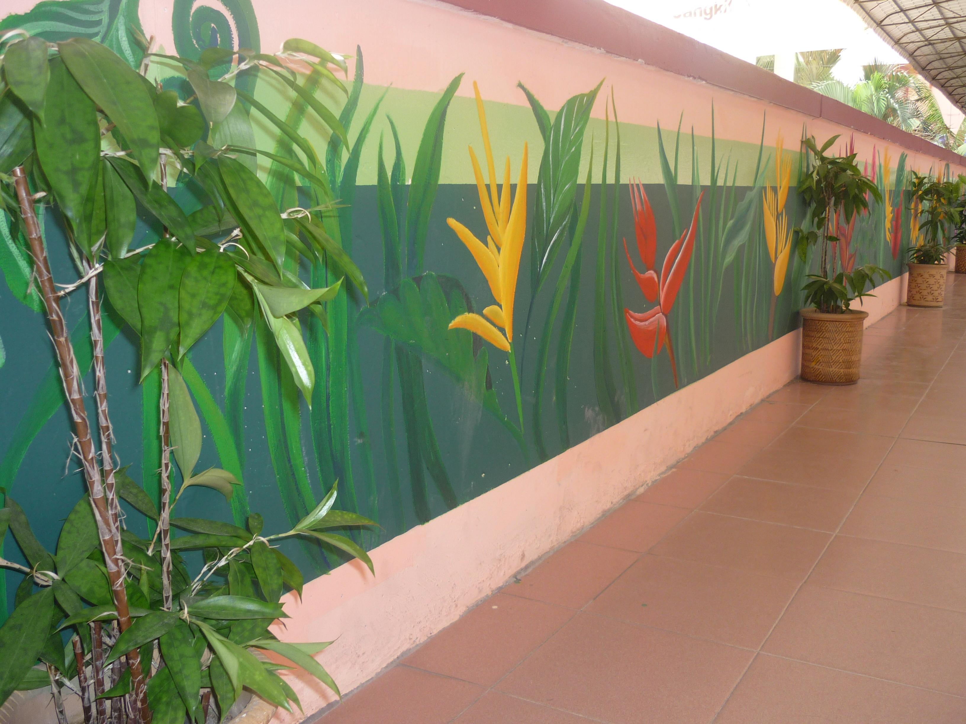Organic fertilizer smk alam megah for Mural sekolah